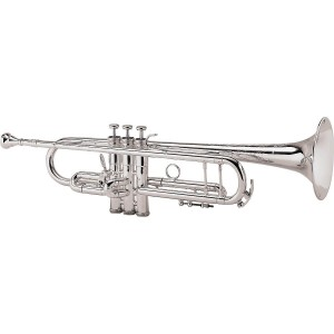 King 2055 Silver Flair Series Bb Trumpet