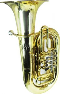 Schiller American Heritage CC Rotary Tuba