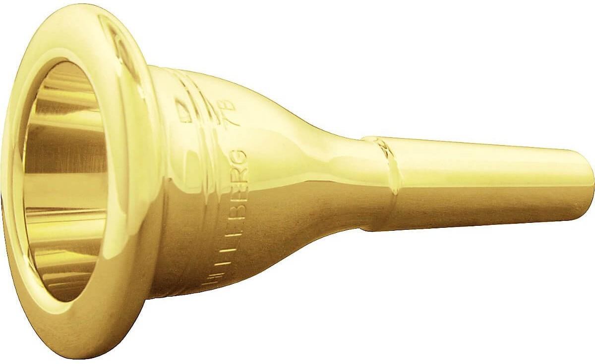 7B 24K Gold Rim /& Cup Helleberg Tuba//Sousaphone Mouthpiece