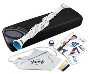 Nuvo N100CLBL Clarineo Kit Blue and White