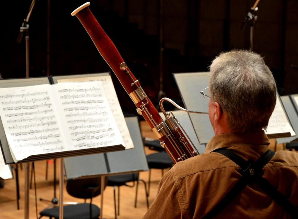 bassoon player