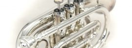 Sky Band Approved Nickel Plated Bb Pocket Trumpet
